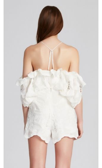 ba15ffc715e alice McCALL Shake It Off Playsuit Porcelain