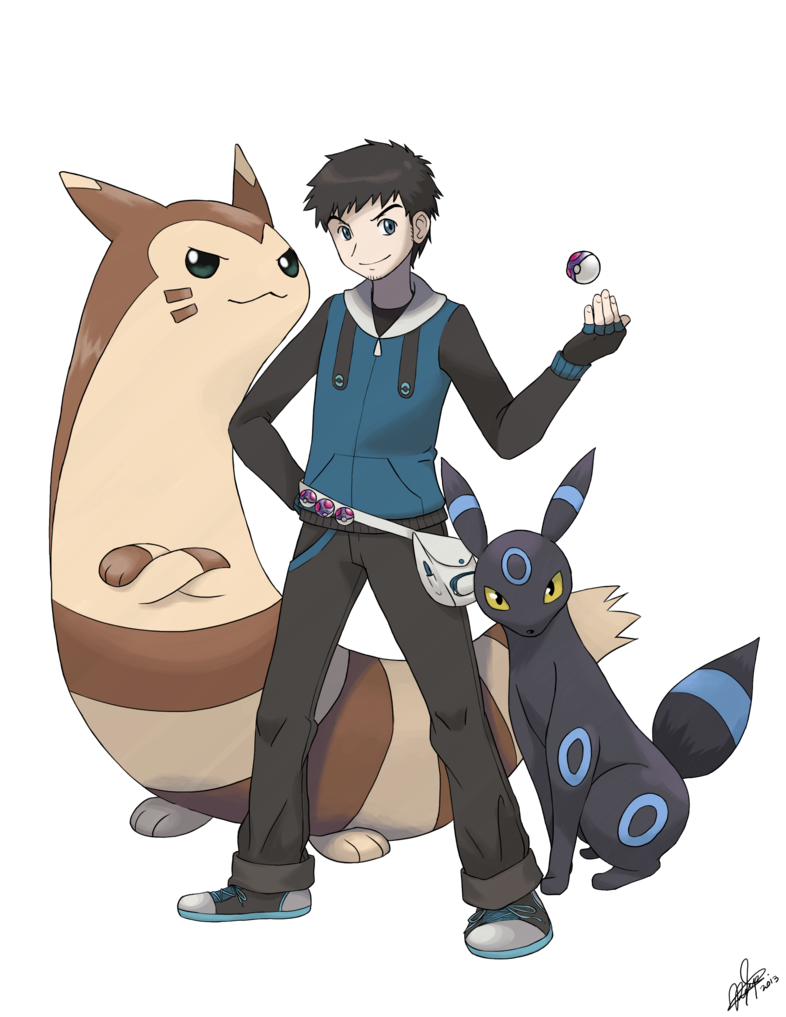 ceabeca196bf + Pkmn Trainer - Commission for no-static-please + by KyseL on DeviantArt