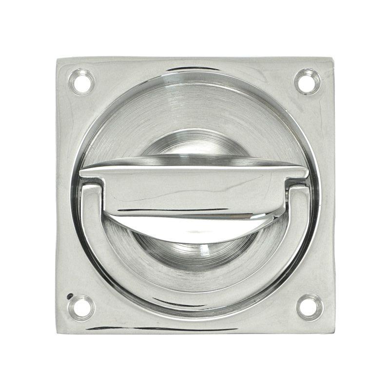 Flush mount door handles