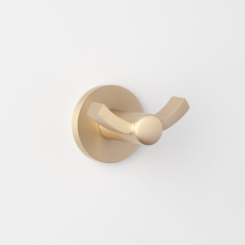 Photo of Maxwell Robe Hook – Satin Brass