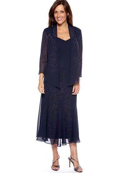 Rm Richards Sheer Beaded Jacket Dress Pinterest Bride Dresses