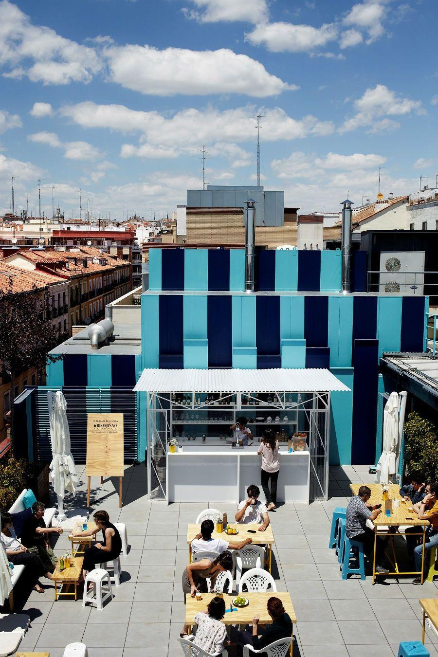 Disaronno Terrace The Place To Be Este Verano Good2b Lifestyle Barcelona Madrid Terrasse