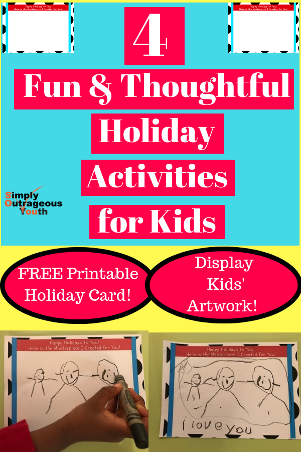 eb20bc468 4 Fun   Thoughtful Holiday Activities for Kids. This includes a free ...