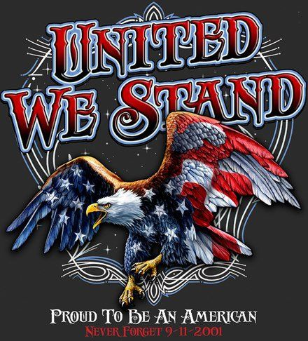 United We Stand I Love America American Flag Eagle Eagle Pictures