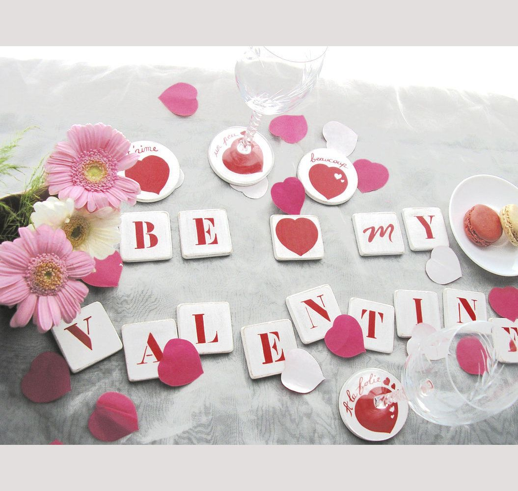 Table Saint Valentin dedans centre de table saint valentin | saint valentin | pinterest