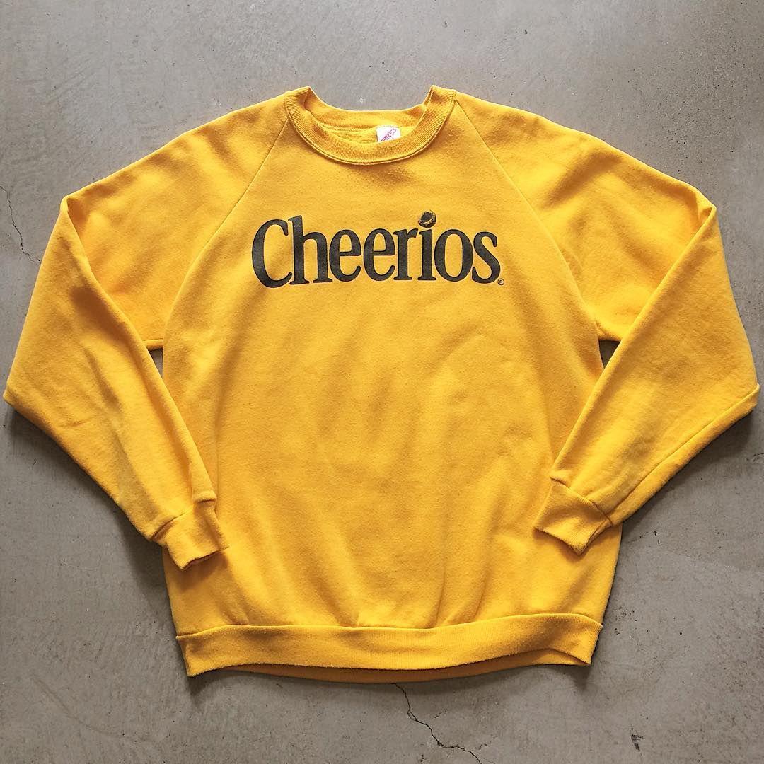 28881626915 Vintage Cheerios Sweatshirt  32+ 16(shipping) domestic. Size XL (27