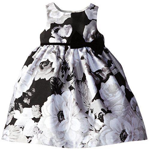 Laura Ashley London Little Girls' Floral Shantung Dress, Black/White, 4 Laura Ashley London http://www.amazon.com/dp/B00M2W35KQ/ref=cm_sw_r_pi_dp_AZ16ub05QXJR3