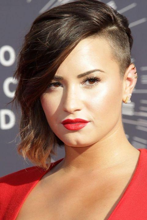 Undercut Hair For Women Statement Celeb Styles Undercut Hairstyles Short Hair Styles Half Shaved Hair