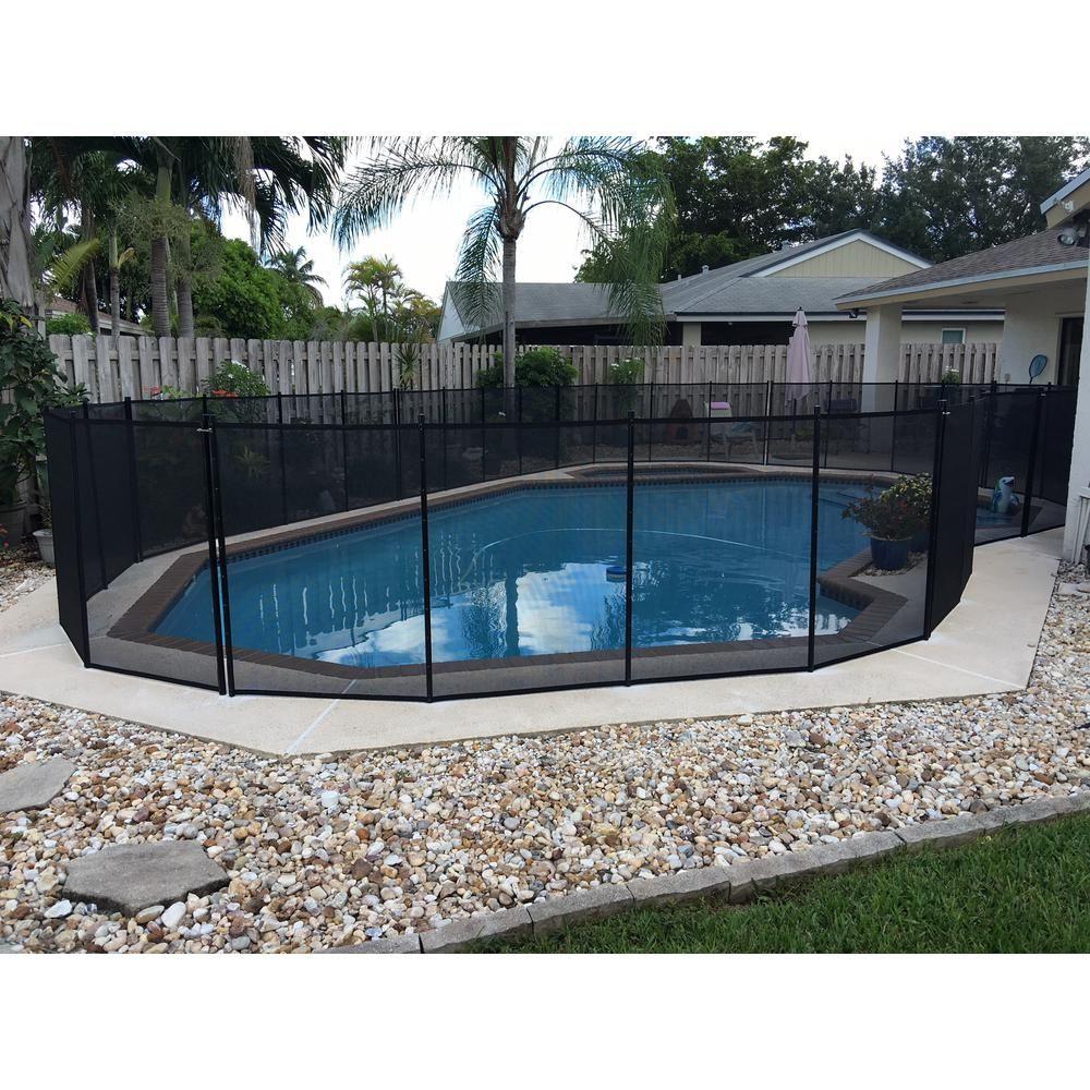 Waterwarden In Ground Pool Safety Fence Wwf200 Pool Safety Fence Pool Safety In Ground Pools