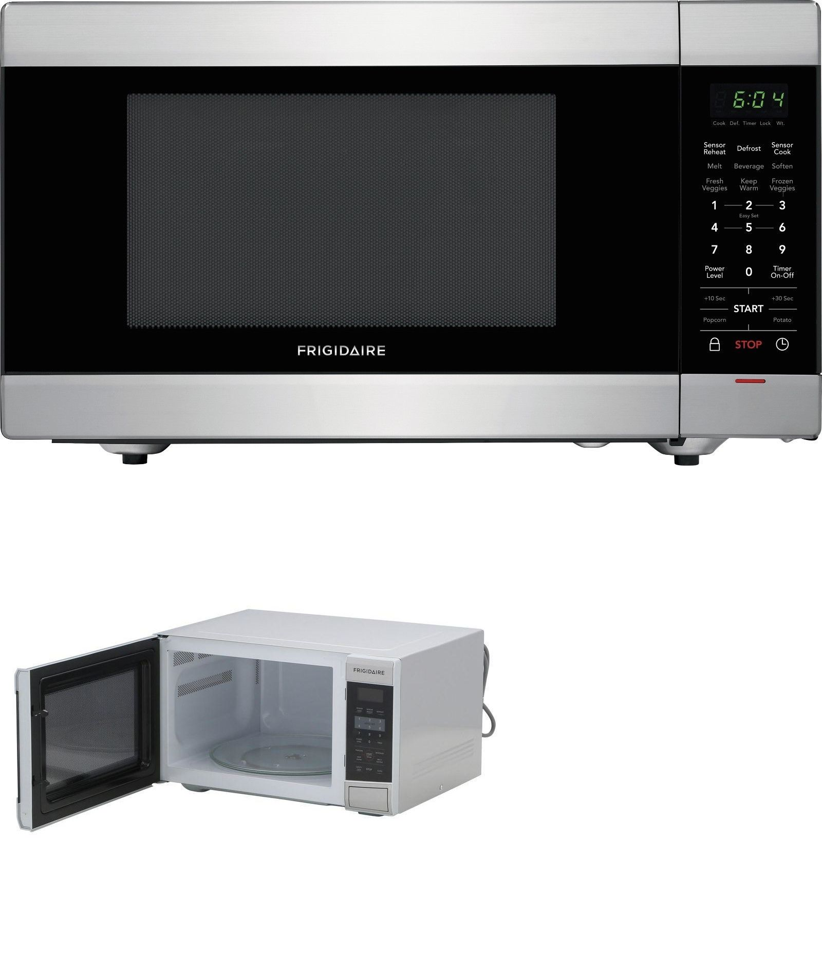 Microwave Ovens 150140 Frigidaire 1 6 Cu Ft Stainless Steel
