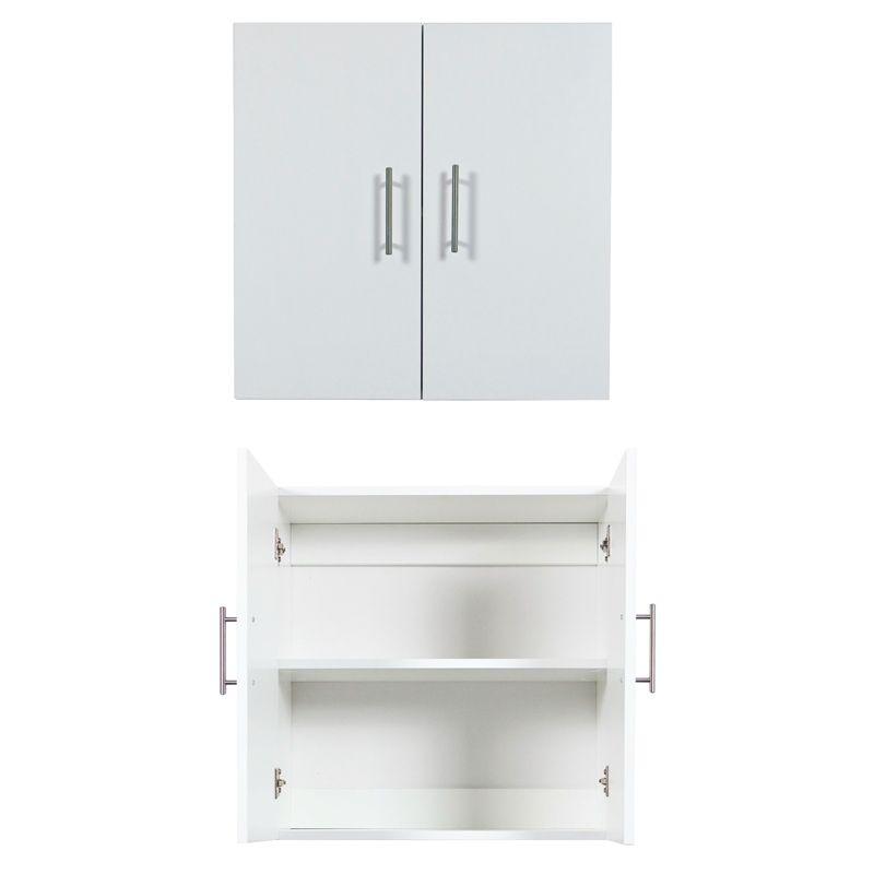 Bedford 600 X 600 X 300mm White 2 Door High Moisture Resistant Wall Cabinet Wall Cabinet Tall Cabinet Storage Cabinet