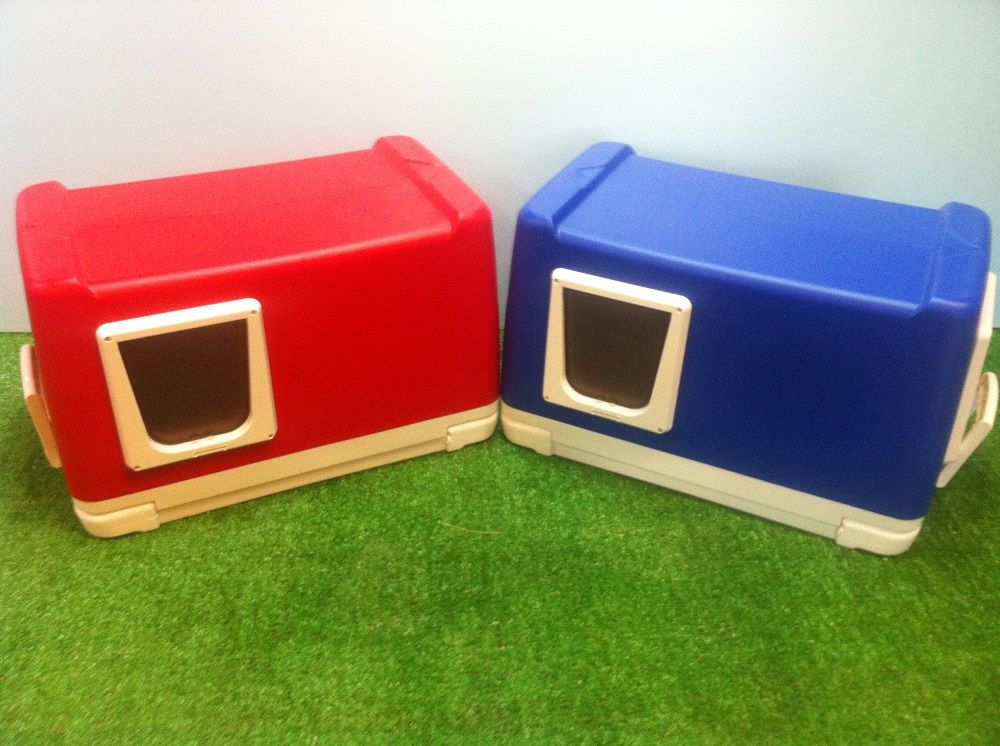 Ready To Purchase Cat Pods Made From Igloo Or Coleman Coolers