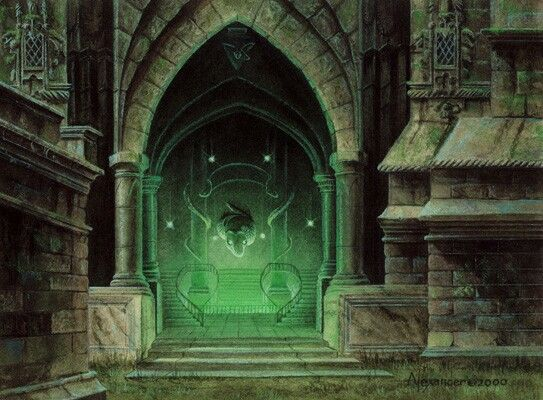 Entry To Slytherin Common Room With Images Slytherin