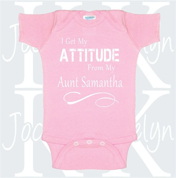 I get my attitude from my aunt custom name baby by jocelynkdesigns i get my attitude from my aunt custom name baby by jocelynkdesigns negle Image collections