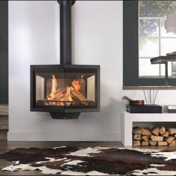 Morso 6870 Wall Mounted Stove Atmost Firewood And Services Malta Wood Stove Modern Wood Burning Stoves Wood Burning Stove