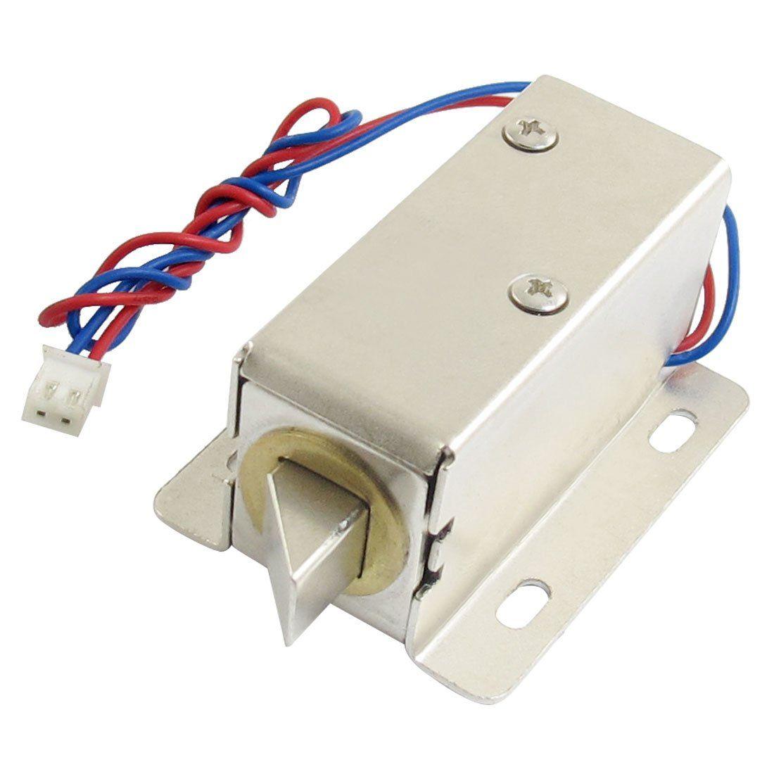 New Hotsale Promotion 0837l Dc 12v 8w Open Frame Type Solenoid For Electric Door Lock Open Frame Door Locks Door Lock System