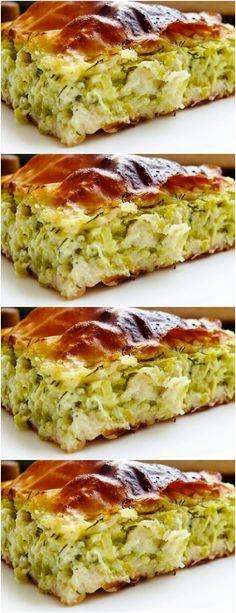 Torta de abobrinha, pode parecer estranho, mas é deliciosa, o que manda é o tempero e a maneira de f...