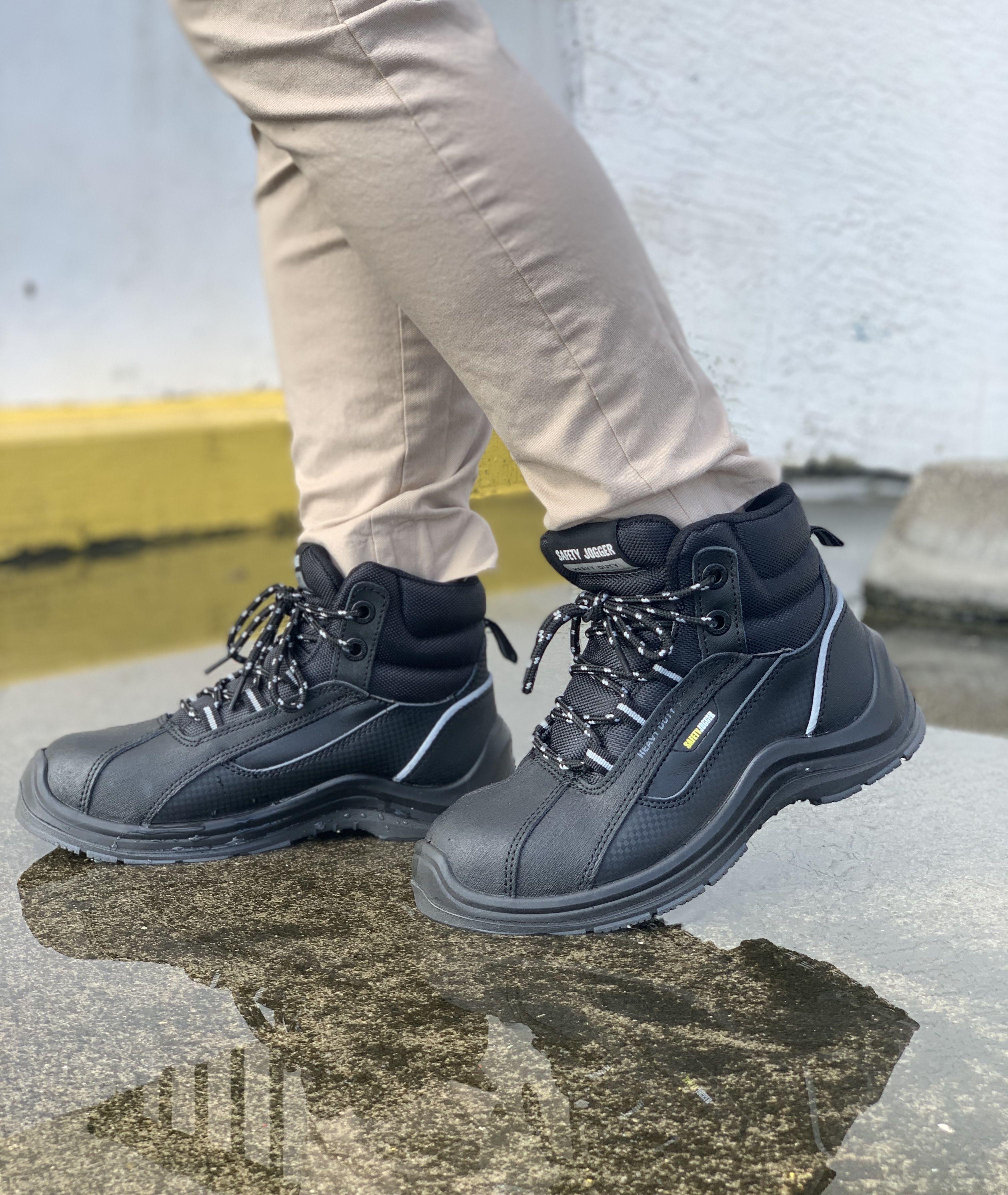 Elevate 81 - Steel Toe / Black | Boots
