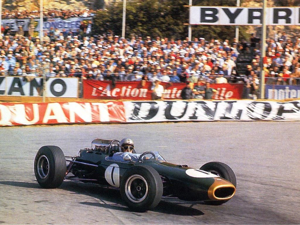 Gp Monaco Jack Brabham Brabham Climax Formula