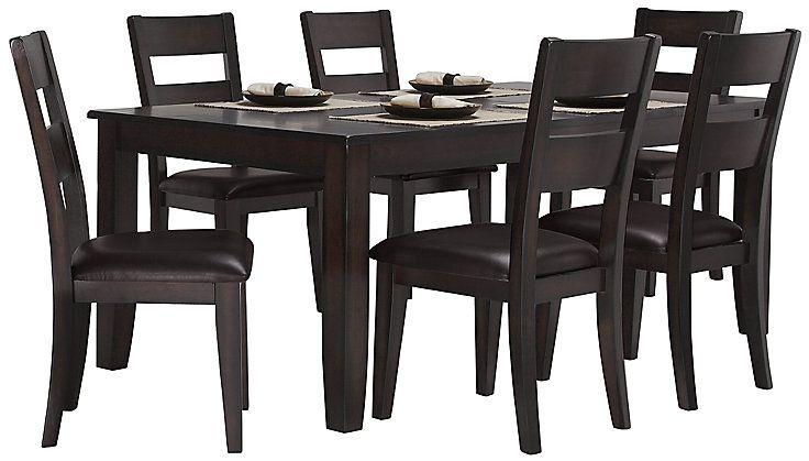 Brilliant Mango2 Dark Tone Rectangular Table 4 Chairs Renovations Bralicious Painted Fabric Chair Ideas Braliciousco