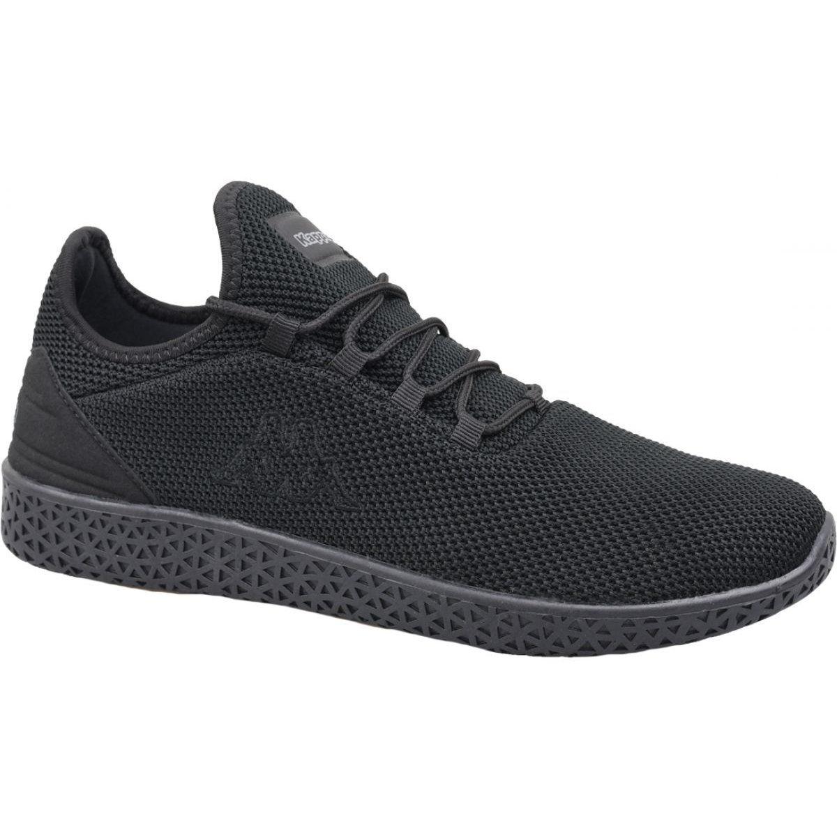 Buty Kappa Icon Knt Oc M 242716 1111 Czarne All Black Sneakers Black Shoes Mens