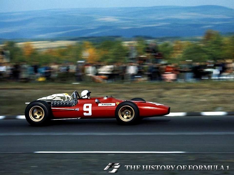 "1967 Formula 1 United States Grand Prix - Christopher ""Chris"" Amon."