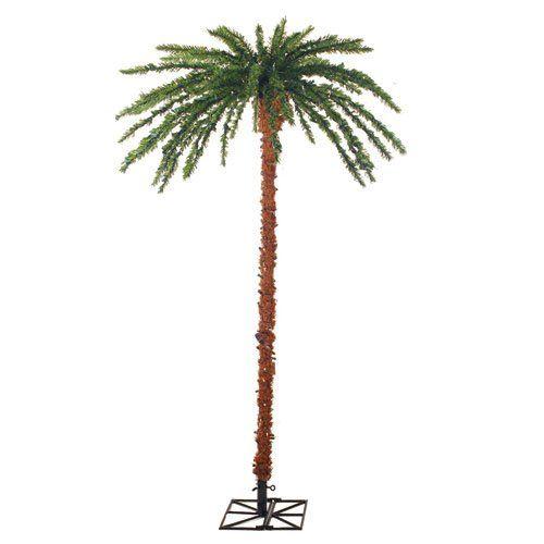 Sterling 3240 60c 6 Feet Pre Lit Palm Tree Clear Lights