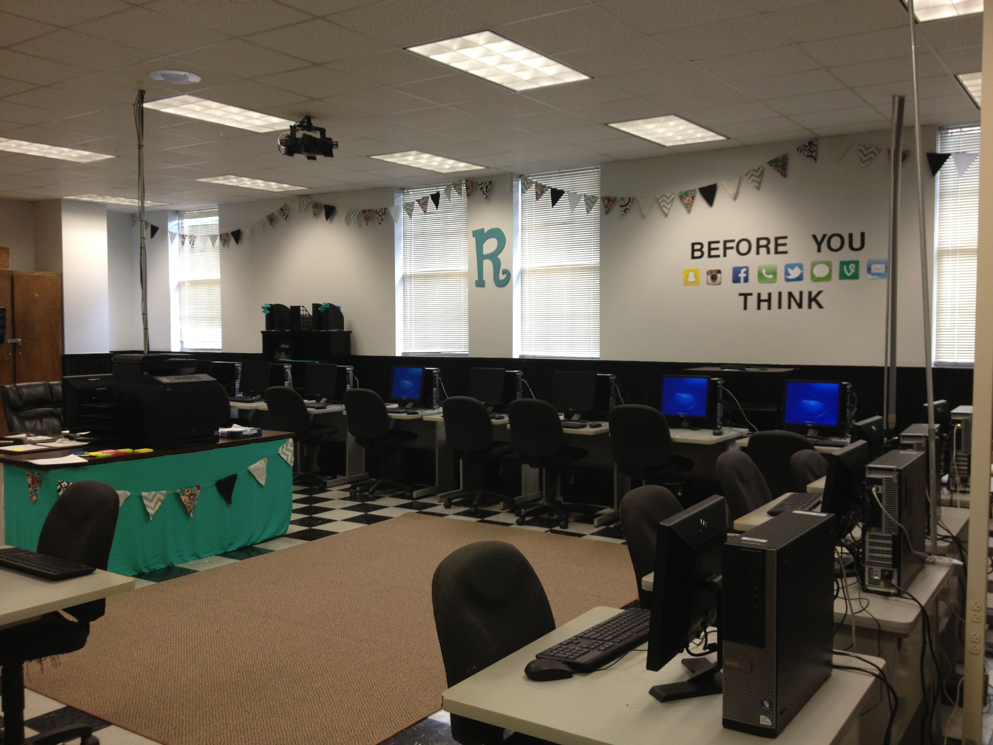My High School Computer Lab Classroom