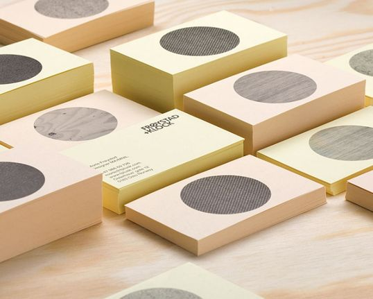 """Designed by Heydays   Country: Norway  """"A small identity for furniture designersFrøystad+Klock, inspired by scandinavian design traditions and their clever use of materials."""