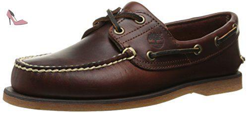 Ekhert2Eye, Chaussures bateau homme, Marron (Light Brown), 44.5 EUTimberland