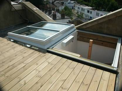 Pin by Nefer Mercantile on Renovation | Pinterest | Roof access hatch Skylight and Roof light & Pin by Nefer Mercantile on Renovation | Pinterest | Roof access ...