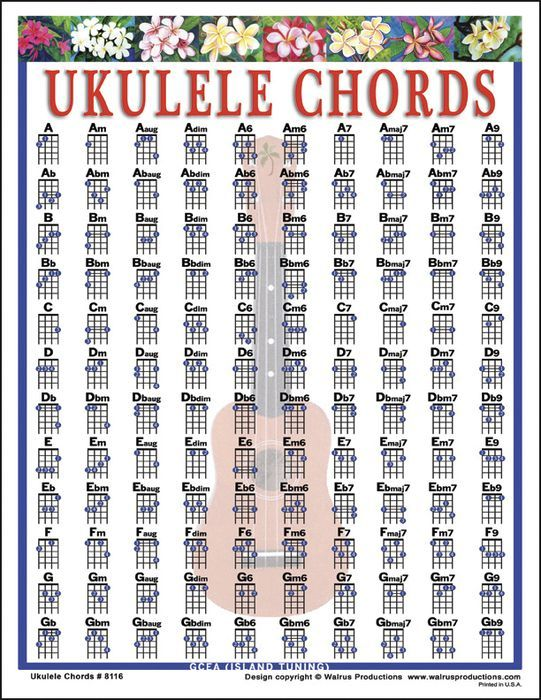 Ukulele ukulele chords poster : Pinterest • The world's catalog of ideas