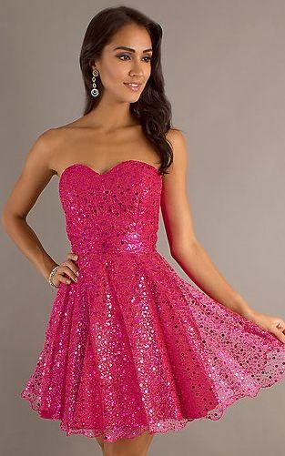 wonderful-princess-worthy-sparkly-pink-cheap-cocktail-dresses.jpg ...