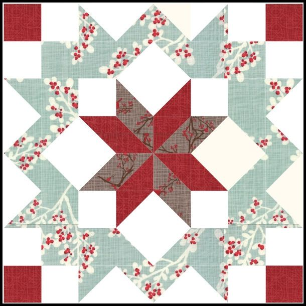 Winters Lane and supersized blocks with tutorials