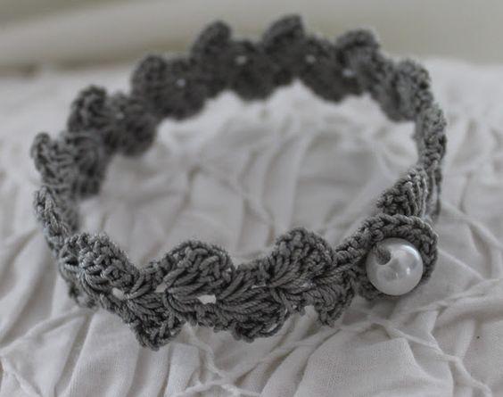 Häkelanleitung von tiina1000 für ein Armband | häkeln und stricken ...