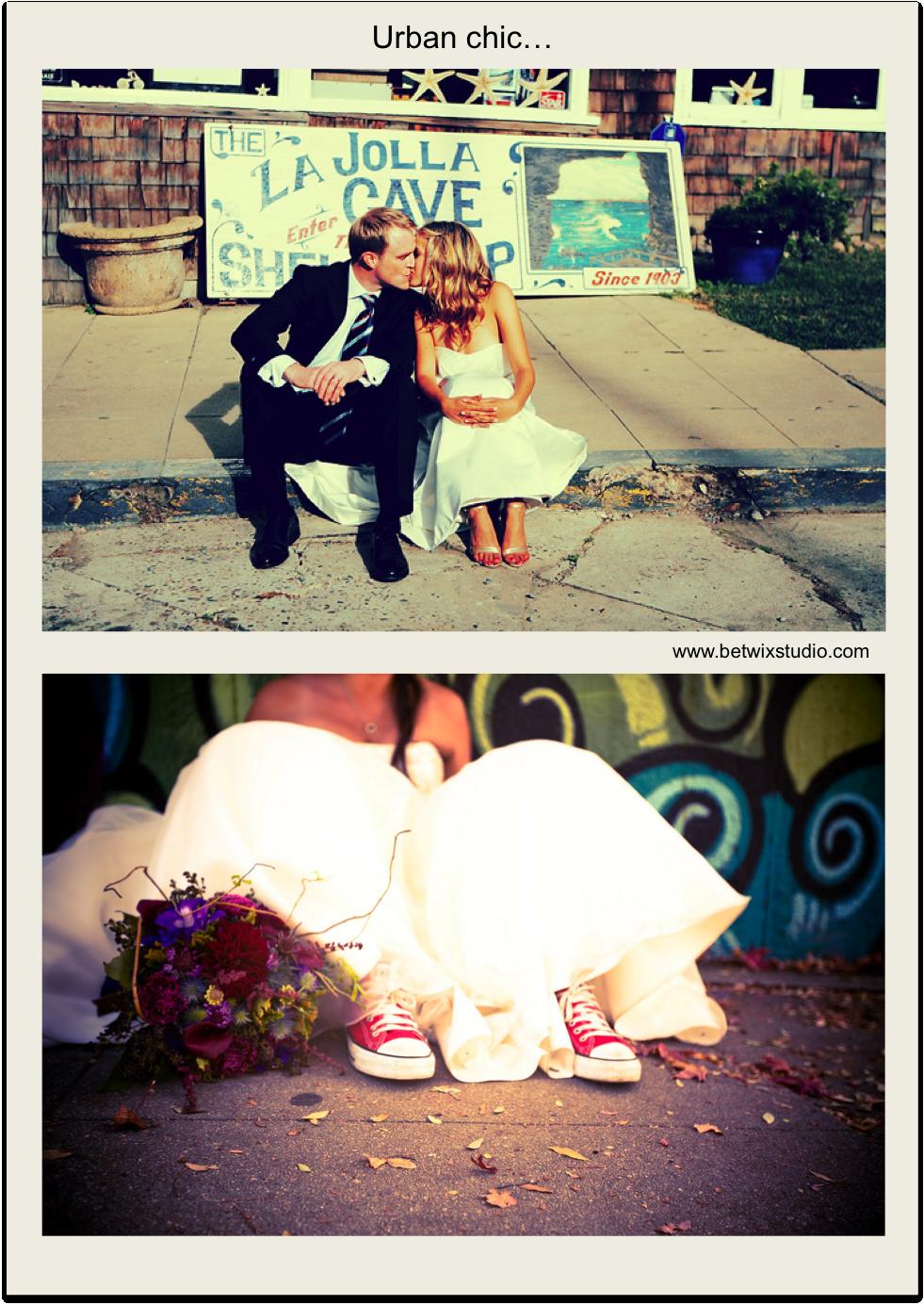 www.momentips.com. Sesión 'Trash the Dress'... urban chic