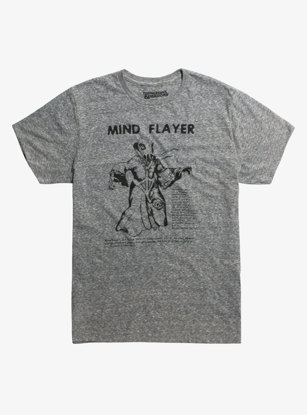 Dungeons Dragons Mind Flayer T Shirt Mind Flayer Dungeons And Dragons Cool T Shirts