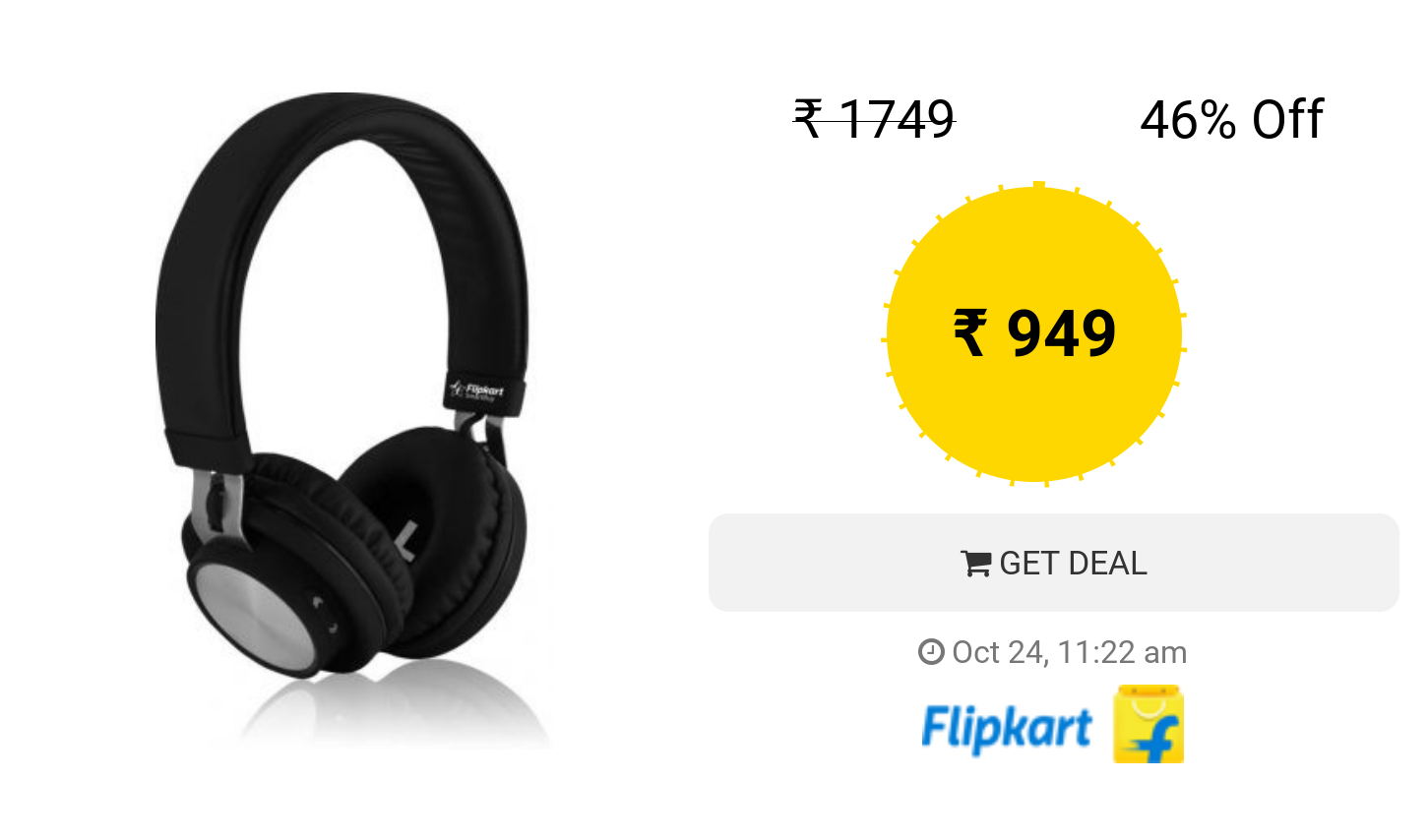 Flipkart Smartbuy Rich Bass Wireless Bluetooth Headset With Mic Black Over The Ear With Images Headset Bluetooth Headset Wireless Bluetooth
