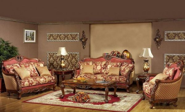 Antique Living Room Furniture Design Ideas Picture