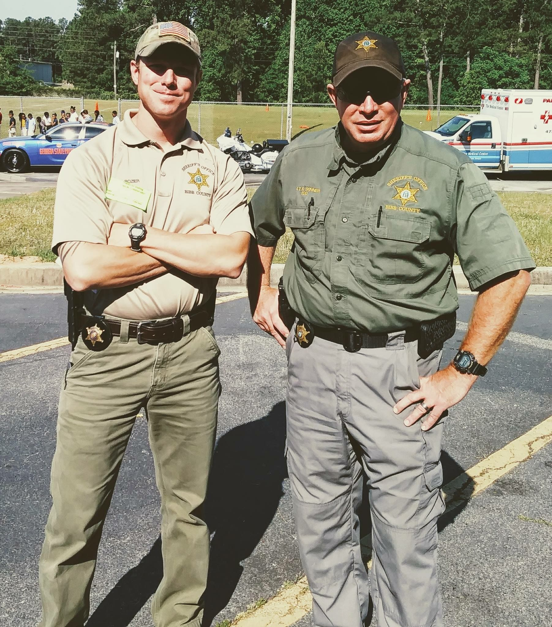 Check out these awesome pics our bibb county sheriffs