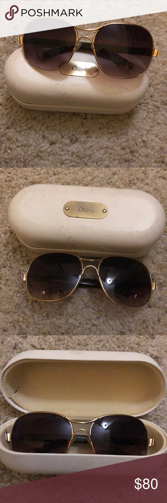 5b6aaa48e457 Chloé sunglasses Edgy original chloé sunglasses Chloe Accessories Glasses