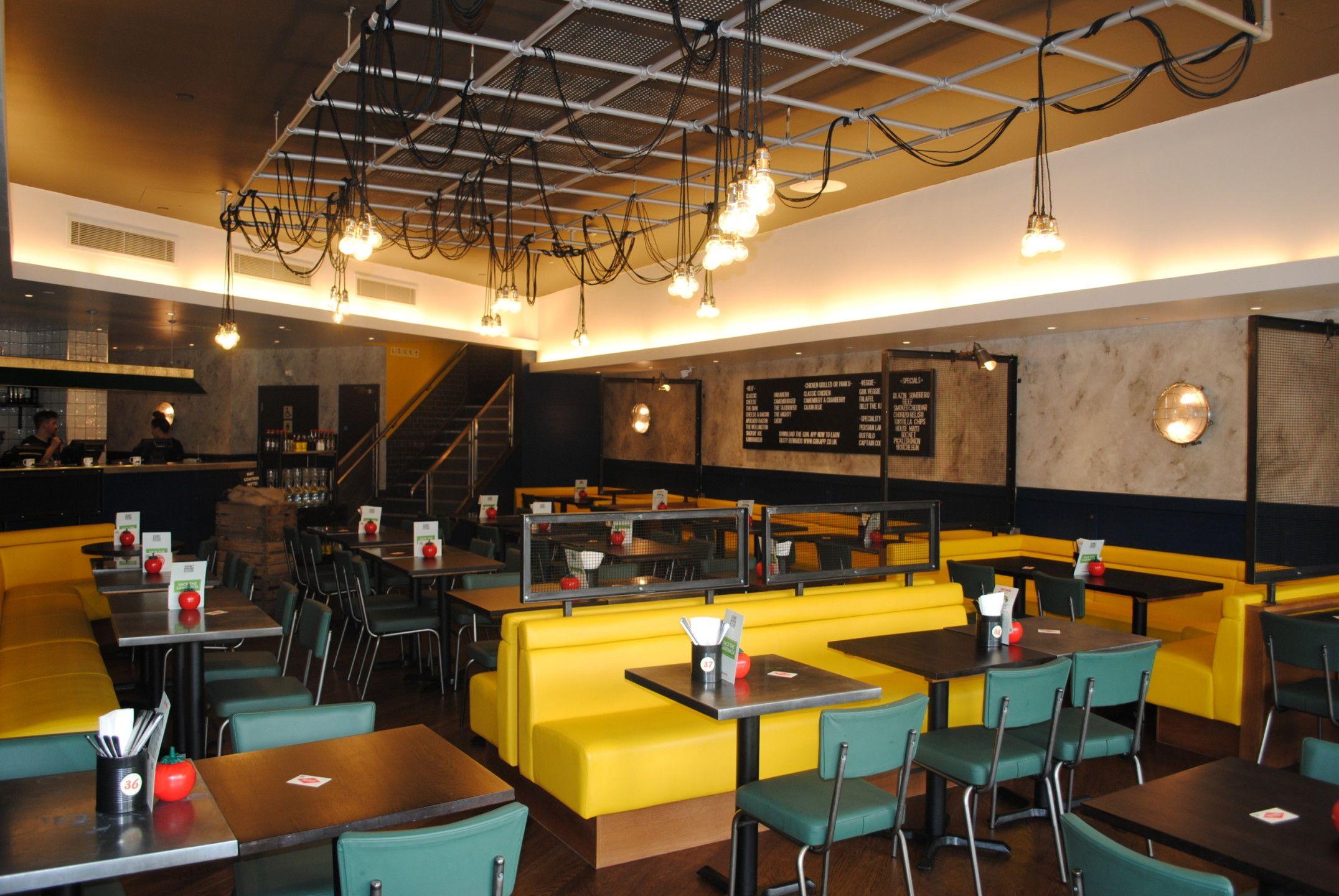 Gourmet Burger Kitchen Liverpool Craftwood Restaurant  # Muebles Loverpool