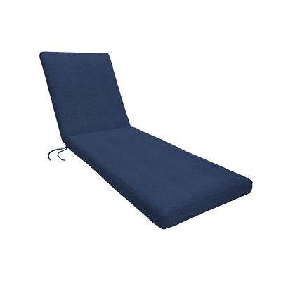 Sunbrella Chaise Cushion Spectrum Indigo