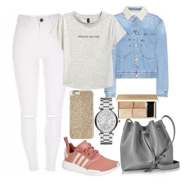 """""""Untitled#1560"""" by mihai-theodora ❤ liked on Polyvore featuring Étoile Isabel Marant, adidas, Lancaster, Marc Jacobs, Michael Kors and H&M"""