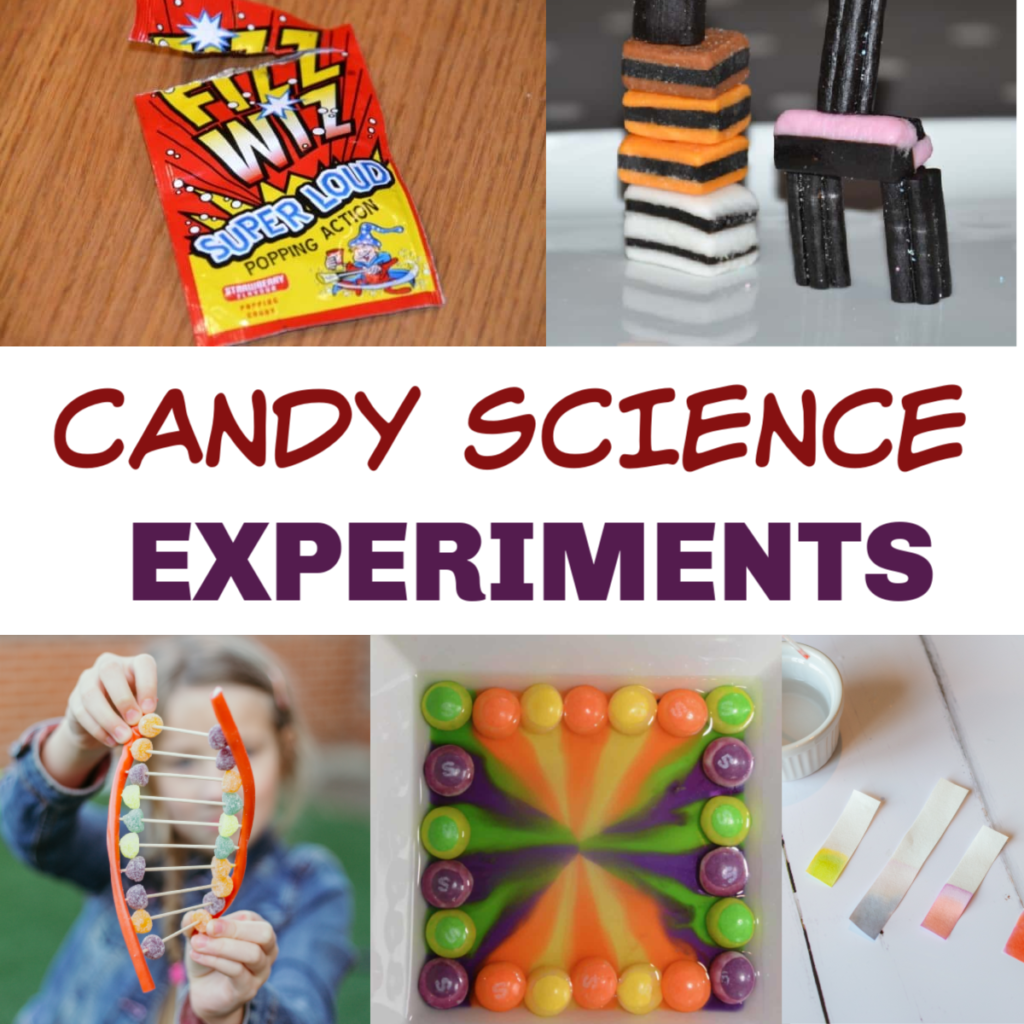 15 Amazing Candy Science Experiments For Kids In