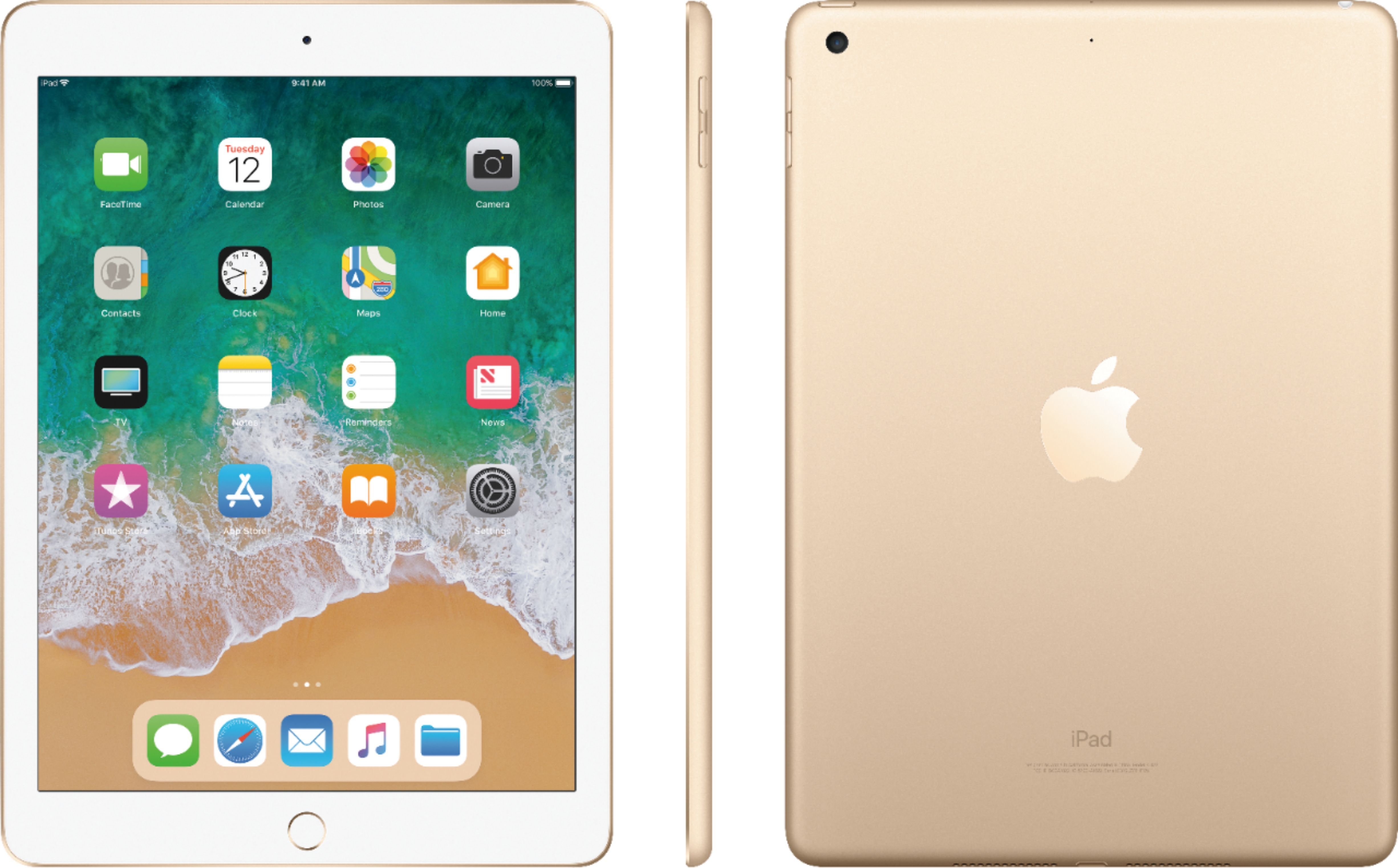 Apple Mpg62ll A Apple Ipad With Wifi 32gb Gold Appleproducts