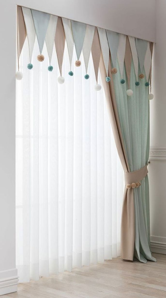 65 Adorable Window Curtains Design Ideas And Decor Ideaboz Baby Room Curtains Window Curtain Designs Home Curtains