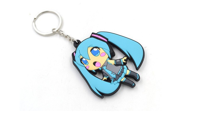 Hatsune Miku Keychain From The Lace Kitten Keychain Hatsune Miku Stuff To Buy