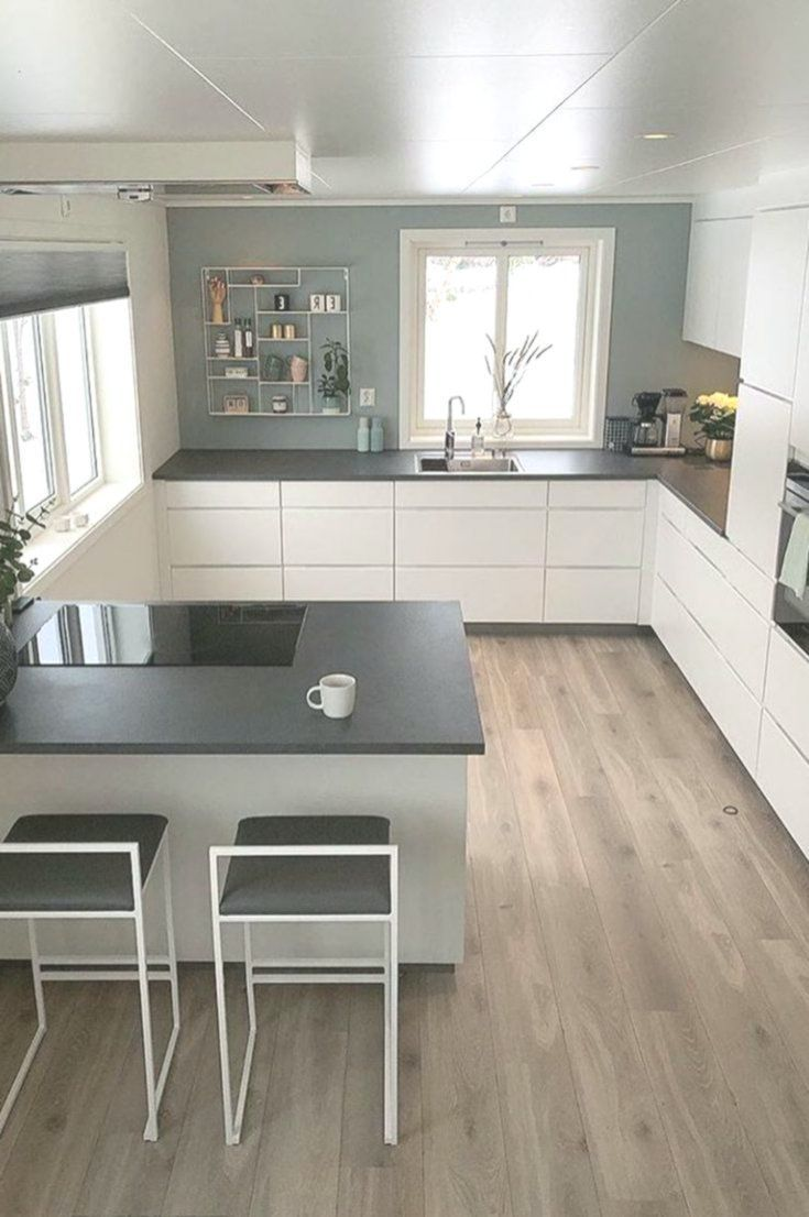 U Shaped Cooking Ideas The Most Effective Design Examples For The Kitchen Of Your Dreams 2 Cooking Design Dr In 2020 Haus Kuchen Innenarchitektur Kuche Kuchen Design