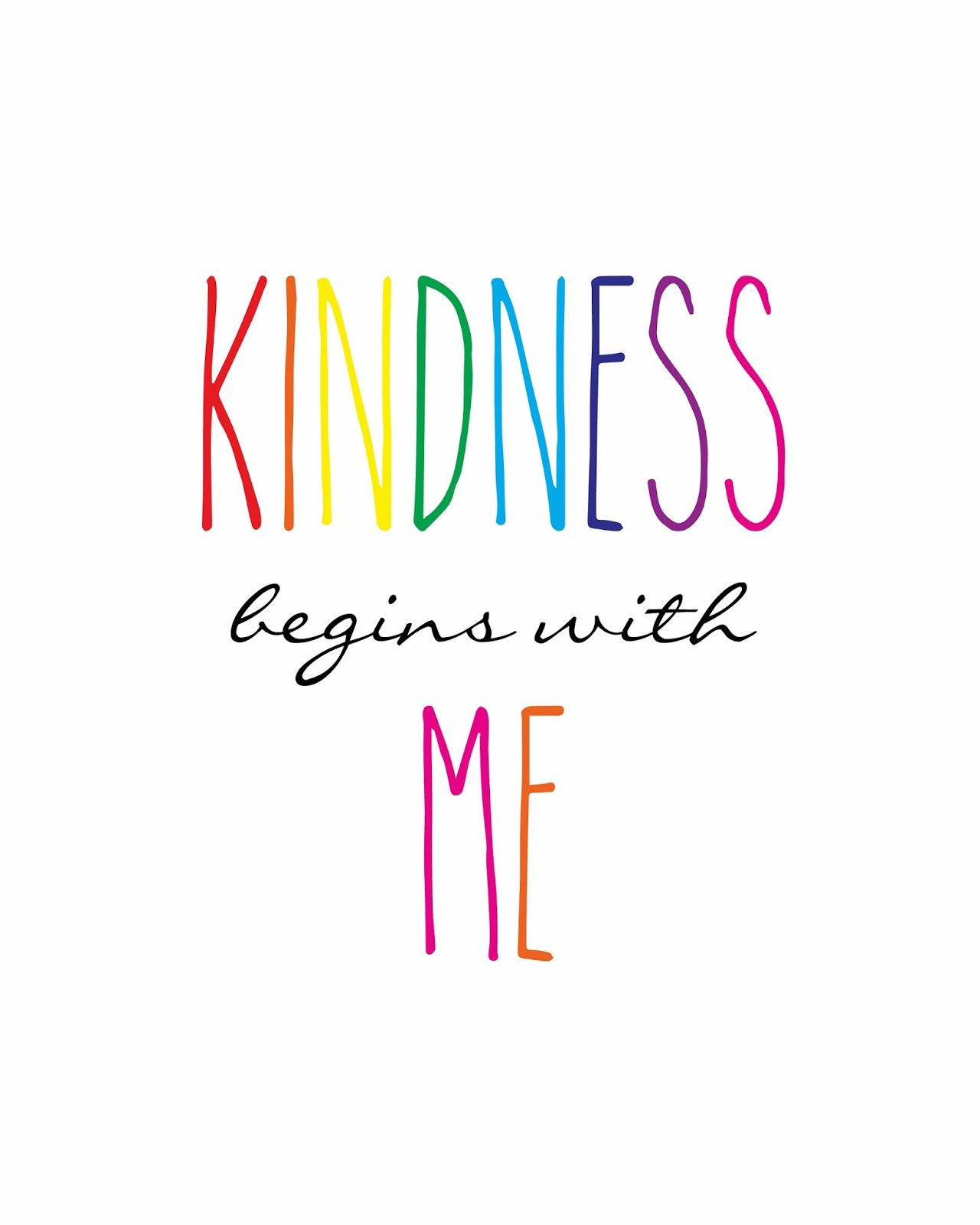 One Little Word: Kindness   Classroom quotes ...